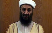 Osama bin Laden prepares for propaganda video