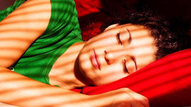 girl, sleeping in, woman, weekend, red, green, stock, 4x3, bed, relaxing