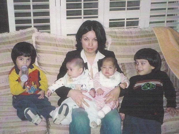 Maria Bruno and her children