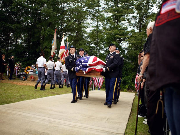 After 43 years, MIA in Vietnam War hero buried