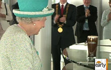 Queen declines pint of Guinness
