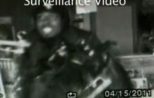 High-priced hair heist caught on tape