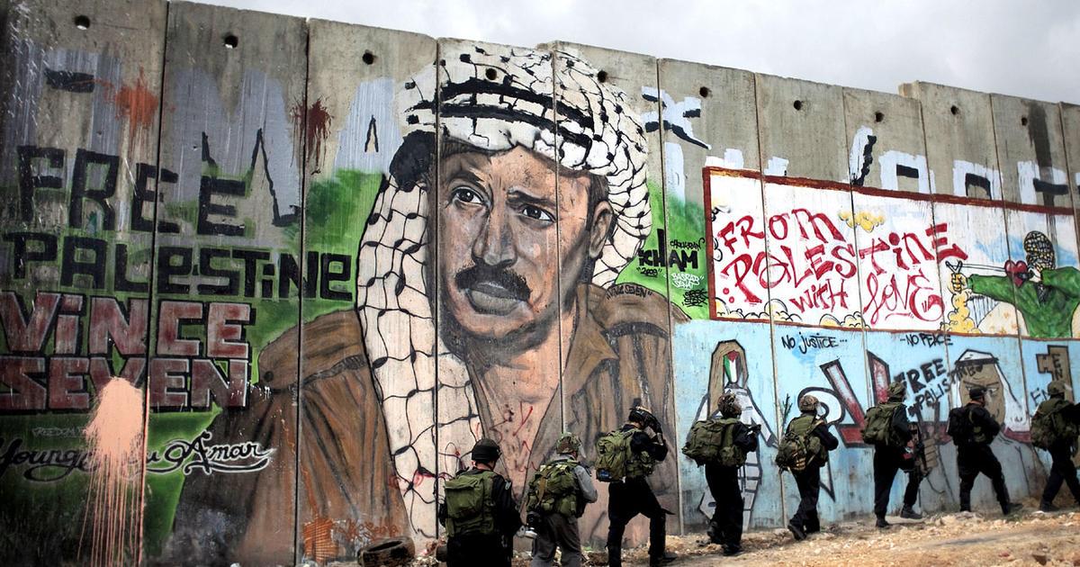 Obama backs Palestinians' 1967 border claims - CBS News