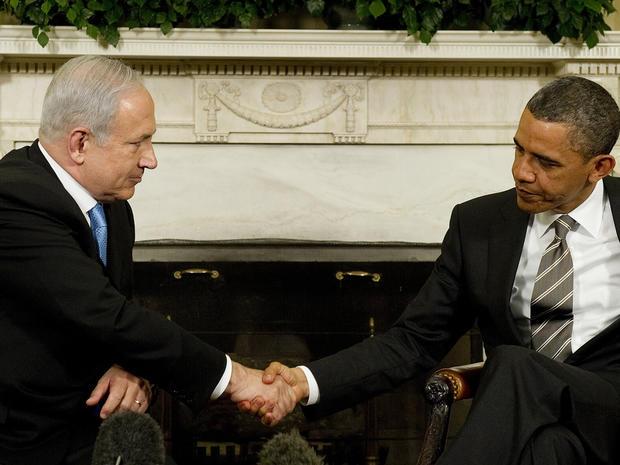 Obama, Netanyahu meet at White House