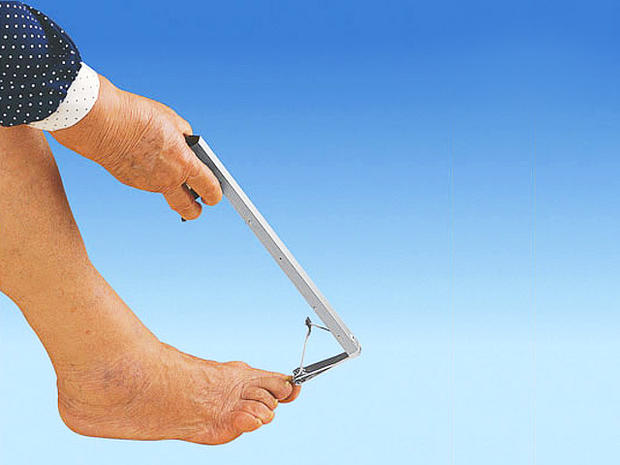 Long Reach Toenail Clipper Living Large 31 Ginormous Goods For Plus Size People Pictures Cbs News