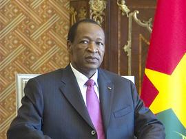 Burkina Faso's President Blaise Campaore
