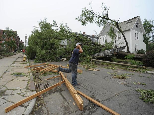 Massachusetts tornado