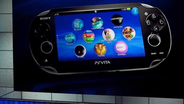 Sony unveils next gen portable device 39 vita 39 cbs news for Playstation 5 portable