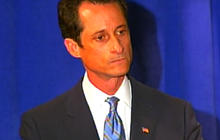 Weiner apologizes to wife, family and Andrew Breitbart