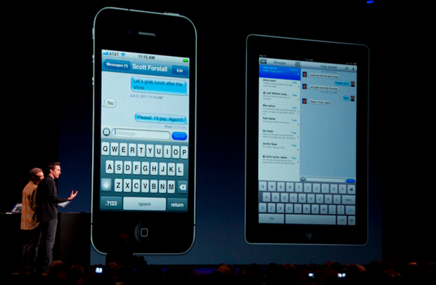 imessage on the iPhone and iPad