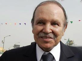 Algerian President Abdelazziz Bouteflika