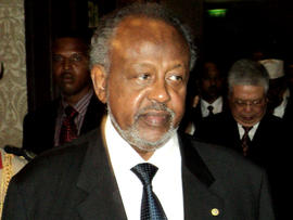 Ismael Omar Guelleh, president of Djibouti