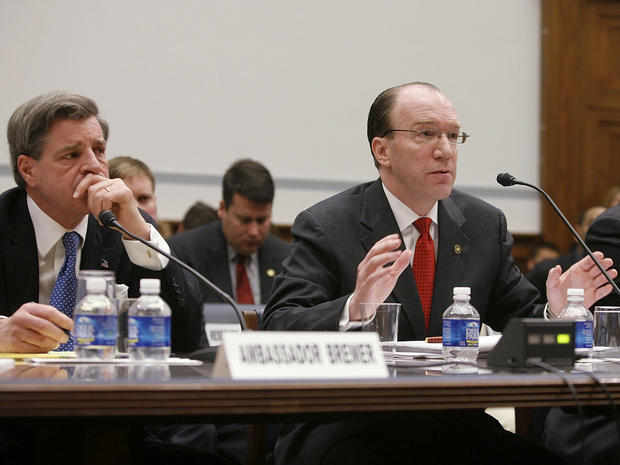Stuart Bowen testifies in Congress