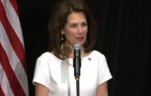 Is Bachmann exaggerating her foster care record?