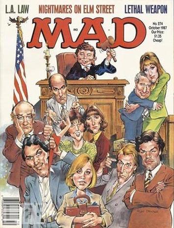 MAD Magazine, a semi-secret history
