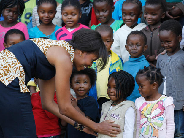 Michelle Obama in South Africa