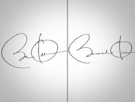Signed letter from President Obama