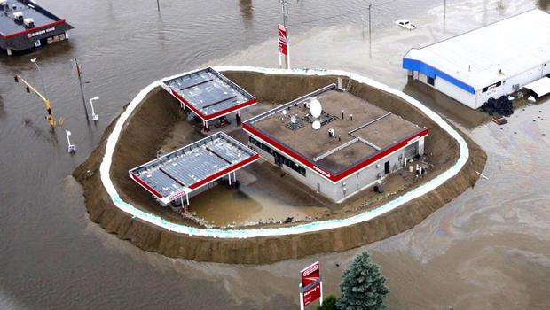 Minot, N.D., flooding
