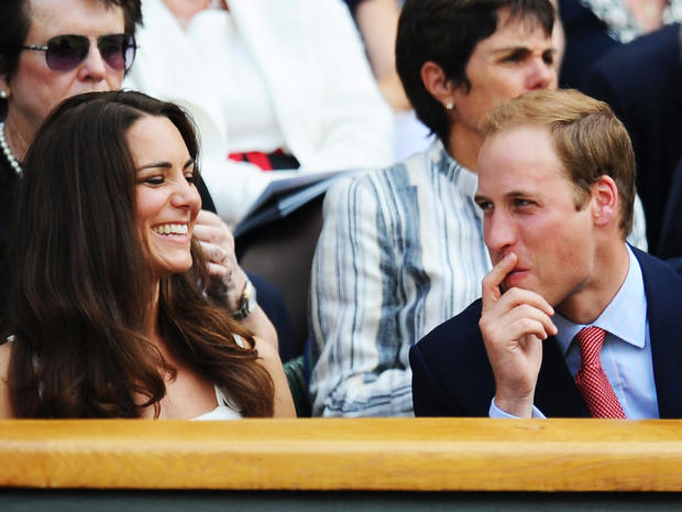 William and Kate at Wimbledon