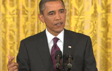"Obama says N.Y. gay marriage law ""a good thing"""