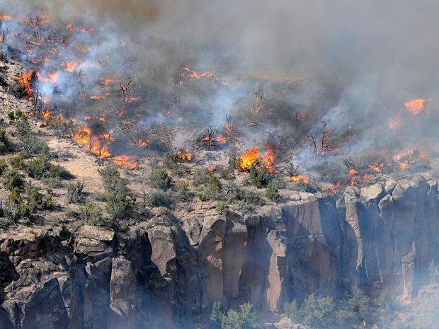 The Los Alamos fire