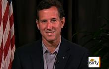 Santorum talks presidential candidacy