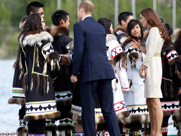 William and Kate visit Northwest Territories