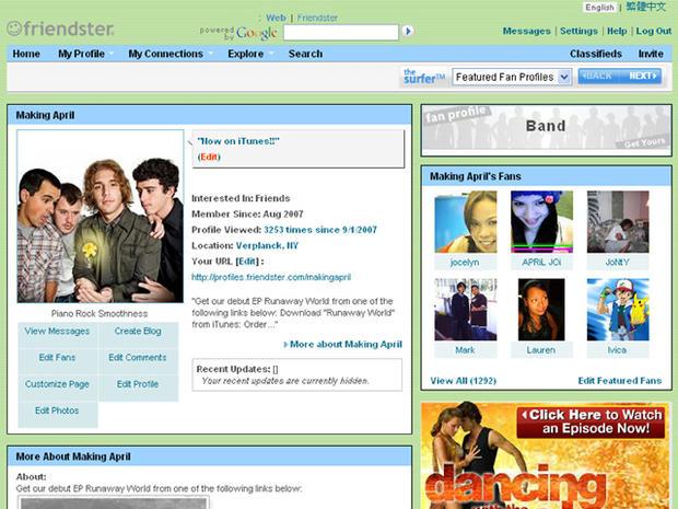 march 2002 friendster   then and now a history of social