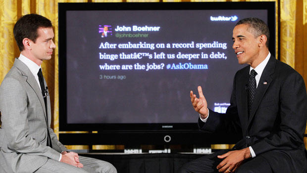 President Barack Obama bends Twitter Rules