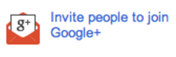 The once-rare Google invitation button has been available for more than a day.