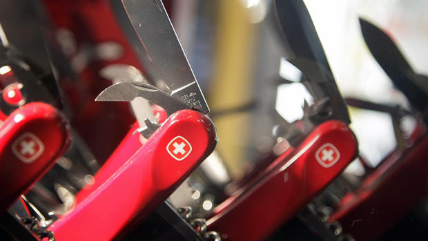 Low-tech, high profile: The secret of the Swiss Army Knive