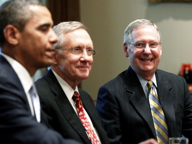 Obama, Reid, McConnell
