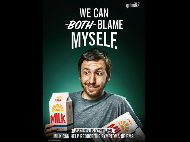 Got PMS? Get milk - 7 bold new ads