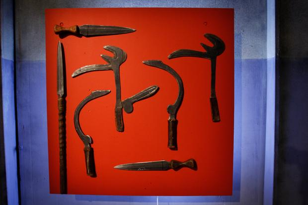 "Deadliest weapons from ""Deadliest Warrior"""
