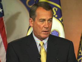 Boehner press conference
