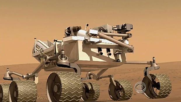 "NASA's Mars rover ""Curiosity"""