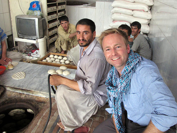 CBS News in Kabul: Behind the scenes