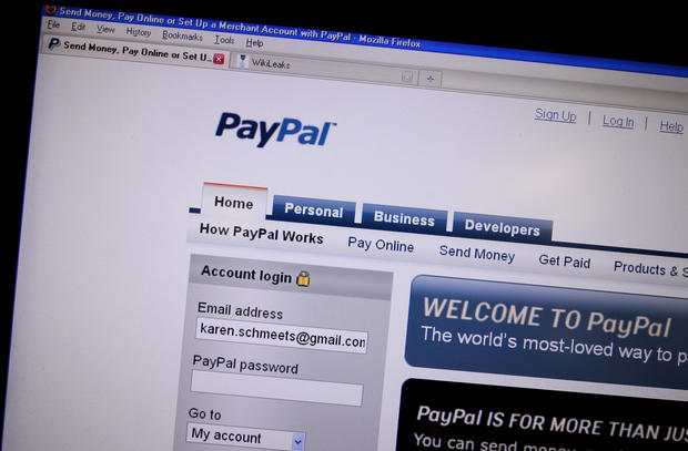 Hacking Paypal - Anonymous' most memorable hacks - Pictures