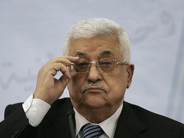 Palestinian President Mahmoud Abbas attends a meeting of the Central Committee of the Palestine Liberation Organization (PLO), in the West Bank city of Ramallah, July 27, 2011.
