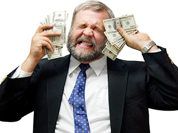 money, rich, wealthy, depressed, sad, stressed, depression, economy, finances, businessman, woes, troubled, agony, stock, 4x3, bills, dollar, cash