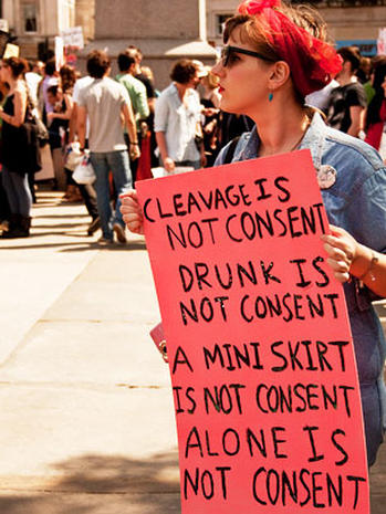 """SlutWalkers"" vs. sex abuse: 19 provocative photos"