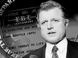 FBI files show threats to Ted Kennedy