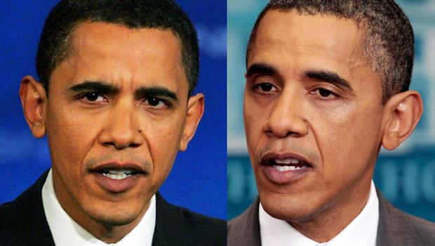 Comparison between Barack Obama and John McCain