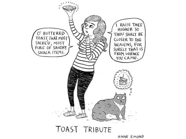 The new Cathy? This blogger's comic strips are laugh-out-loud worthy