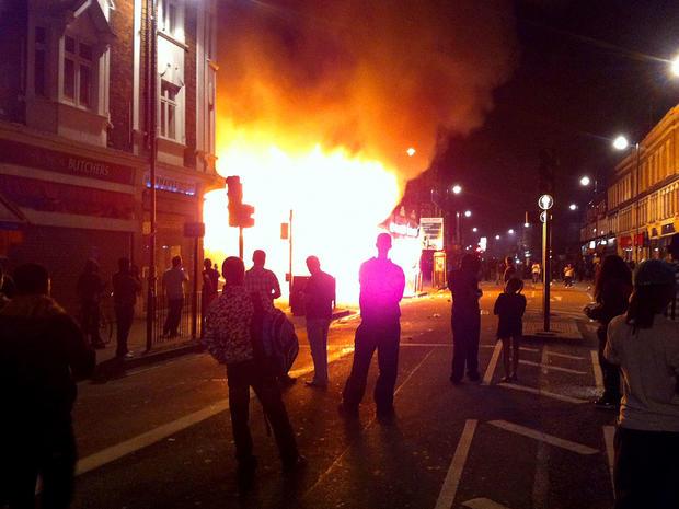 Tottenham riot