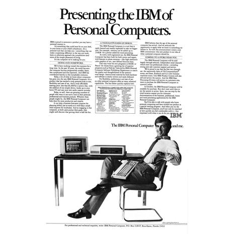 Totally gratuitous pics of old IBMs (in honor of Model 5150's 30th birthday)