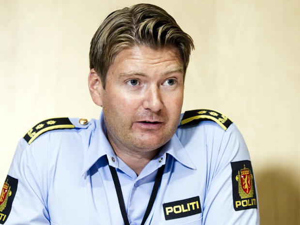 Norwegian prosecutor Christian Hatlo speaks during a press conference at a police station in Oslo Aug. 10, 2011. Hatlo said investigators increasingly believe the confessed killer of 77 people in July's attacks planned and committed them on his own.
