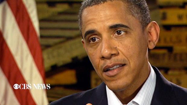 President Obama interview on Sunday Morning
