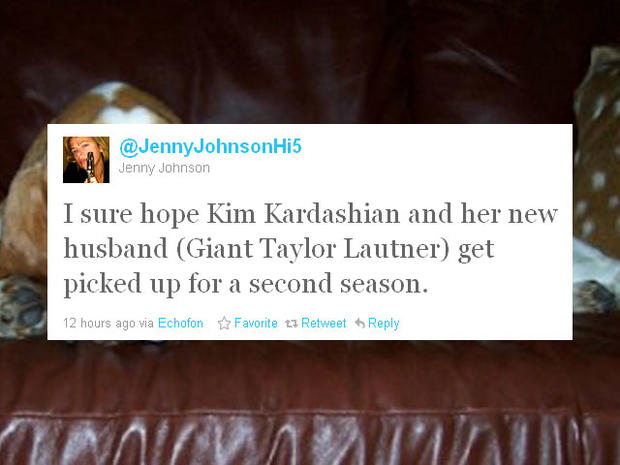 Kim Kardashian and Kris Humphries wed: tweets on why we shouldn't care