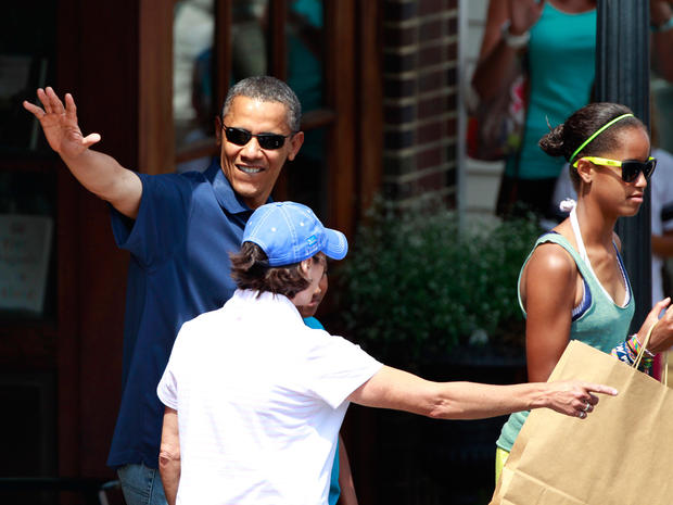 First family's summer vacation